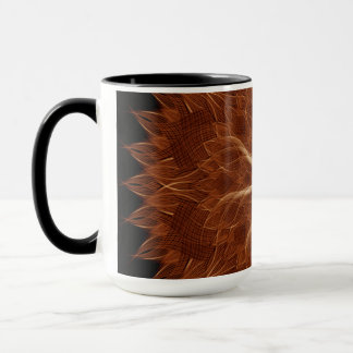 Earth Curves Mandala Mug