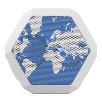 Earth / Custom Boombot REX, White White Bluetooth Speaker
