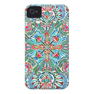 Earth daughter mandala pattern iPhone 4 Case-Mate cases