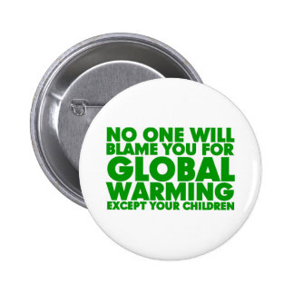 Earth Day 2009, April 22, Stop Global Warming 2 Inch Round Button