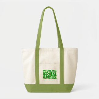 Earth Day 2009, April 22, Stop Global Warming Impulse Tote Bag