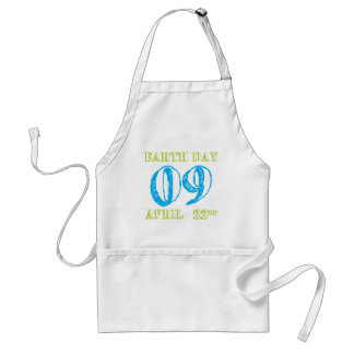 Earth Day 2009 April 22nd Tees and Gifts Standard Apron