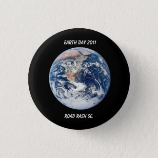 Earth Day 2011 1 Inch Round Button