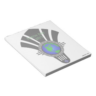 Earth Day 2015 Fan Blade Notepad