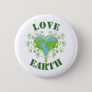 Earth Day 2 Inch Round Button