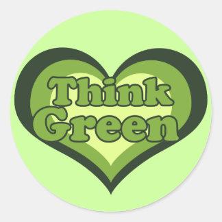 earth day activist round sticker