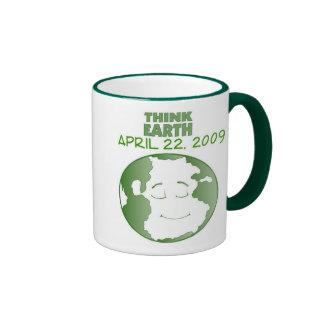 EARTH DAY APRIL 22, 2009 COFFEE MUG