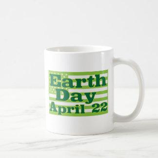 Earth Day April 22 Coffee Mugs