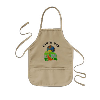 Earth Day at Home Kids Apron