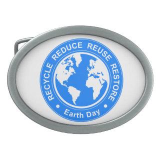 Earth Day Belt Buckles