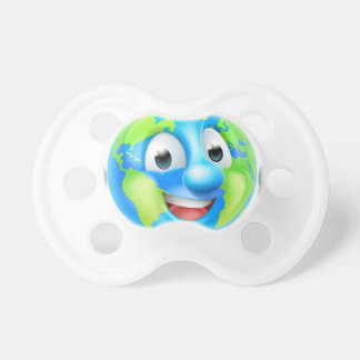 Earth Day Cartoon Character Pacifier