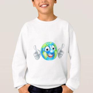 Earth Day Cartoon Character Sweatshirt