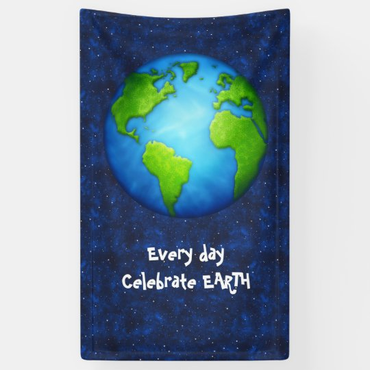 Earth Day Celebration Banner