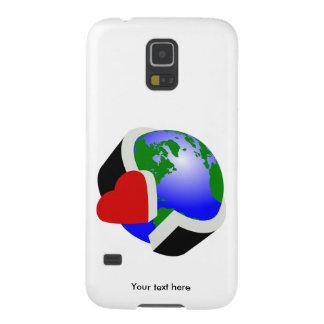 Earth Day Earth Love Galaxy S5 Case