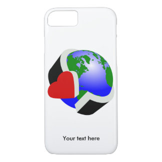Earth Day Earth Love iPhone 7 Case