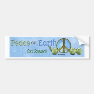 Earth day - eco bumper stickers