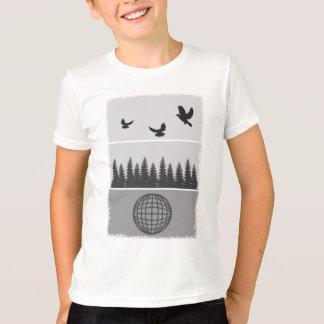 Earth Day Environmental Awareness Illustration T-Shirt