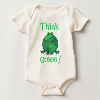 Earth Day Environmental Baby Bodysuit