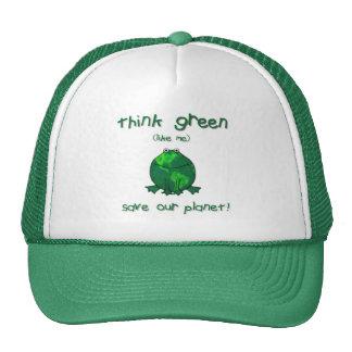 Earth Day Environmental Frog Trucker Hat