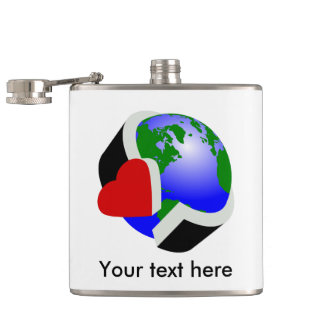 Earth Day Environmental Protection Flask