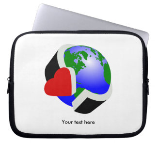 Earth Day Environmental Protection Laptop Sleeve