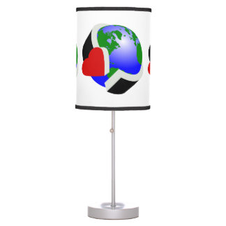 Earth Day Environmental Protection Table Lamp