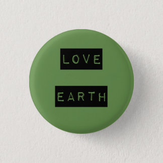 Earth Day Environmentalist Eco Gift Shirts 1 Inch Round Button