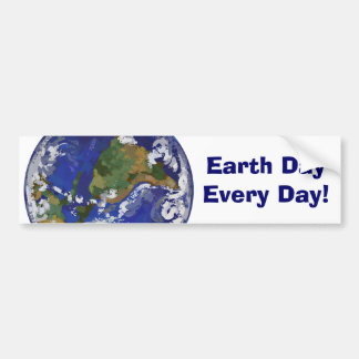 Earth Day Every Day Bumper Sticker