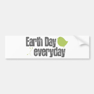 Earth day every day bumper stickers
