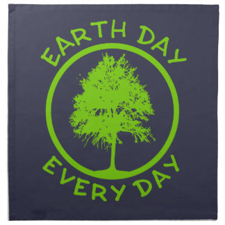 Earth Day Every Day Napkin
