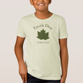 Earth Day Every Day Tee Shirt