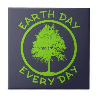 Earth Day Every Day Tile