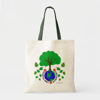 Earth Day Everyday Budget Tote Bag