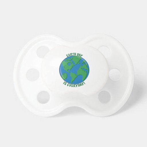 Earth Day Everyday Baby Pacifiers