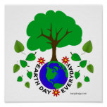 Earth Day Everyday Poster