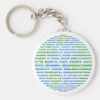 Earth Day Globe Key Chains