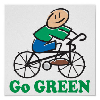 Earth Day Go Green Poster
