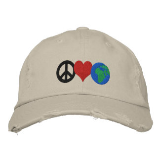 Earth Day Hat Embroidered Hat