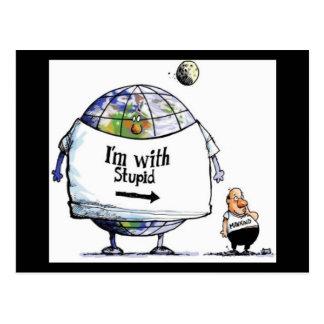 Earth Day Humor Postcard