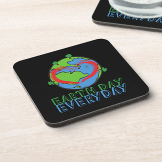 Earth Day: Keep Mother Nature Green & Recycled Coaster