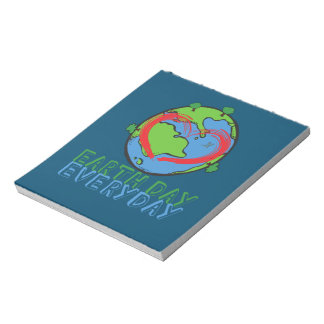 Earth Day: Keep Mother Nature Green & Recycled Notepads