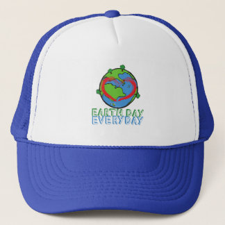 Earth Day: Keep Mother Nature Green & Recycled Trucker Hat