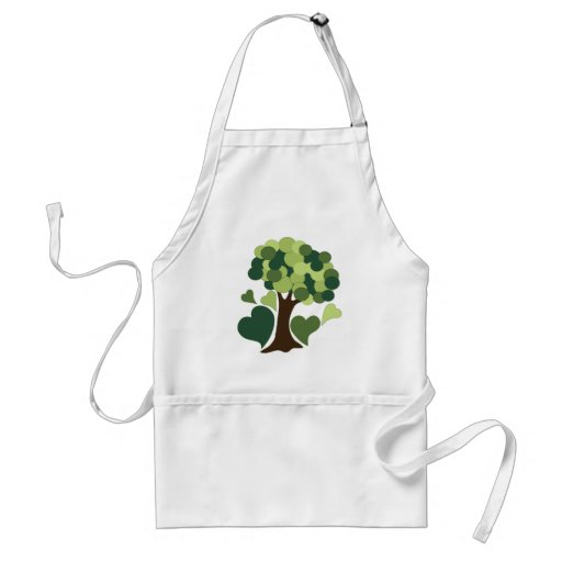 Earth Day Love Apron