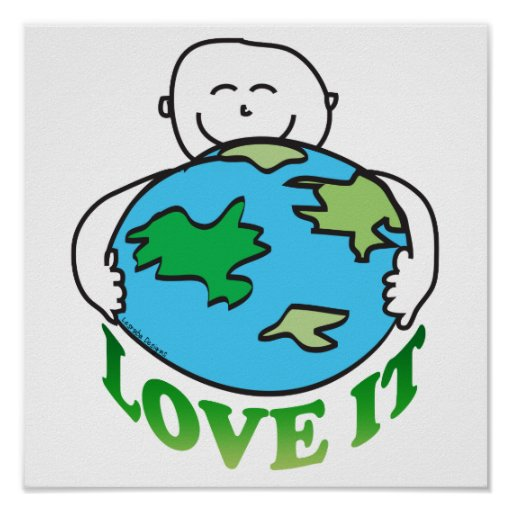Earth Day Love the Earth Posters