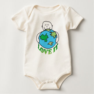 Earth Day Love the Earth Rompers