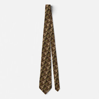 Earth Day Nature Brown Khaki Trees Forests Tie