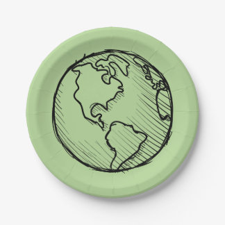 Earth Day Planet Plates & Party Supply