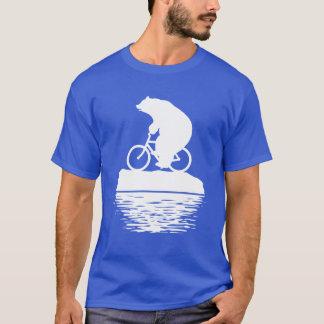 EARTH DAY: Polar Bear Bicycle Men's T-shirt
