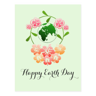 """Earth Day"" Postcard. Postcard"