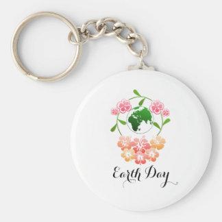 """""""Earth Day"""" Pretty Key Ring. Keychain"""